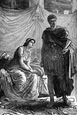 mark antony and cleopatra relationship with brother